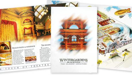 Blackpool Wintergardens – Venue relaunch brochure